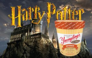 Hacen helado de butterbeer en honor a Harry Potter