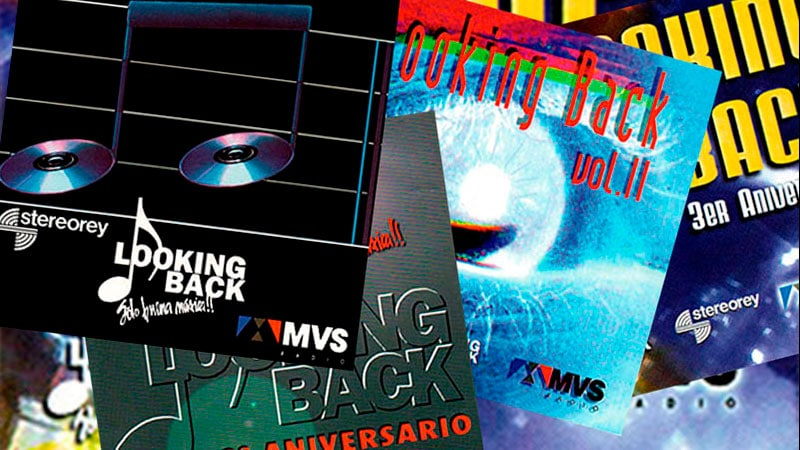 Los discos de Looking Back