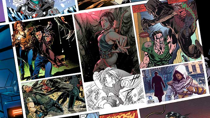 Los cómics y su relación con los videojuegos