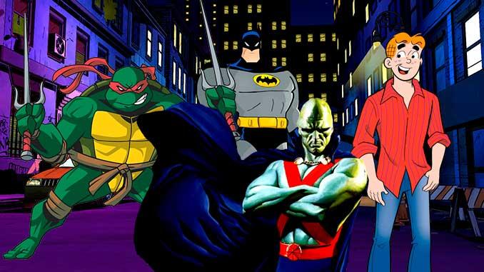 Los 6 crossovers más raros del cómic