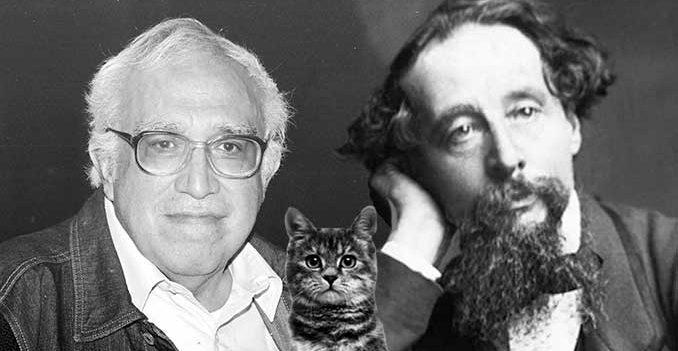 Escritores y sus gatos