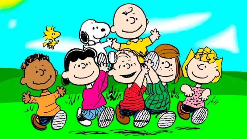 Ellos son Charlie Brown y sus amigos