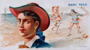 Mary Read, mujer pirata del siglo XVII