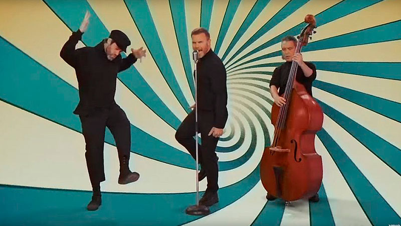 El video del nuevo Take That «Out of Our Heads»