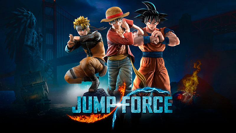 Jump Force, los personajes del anime