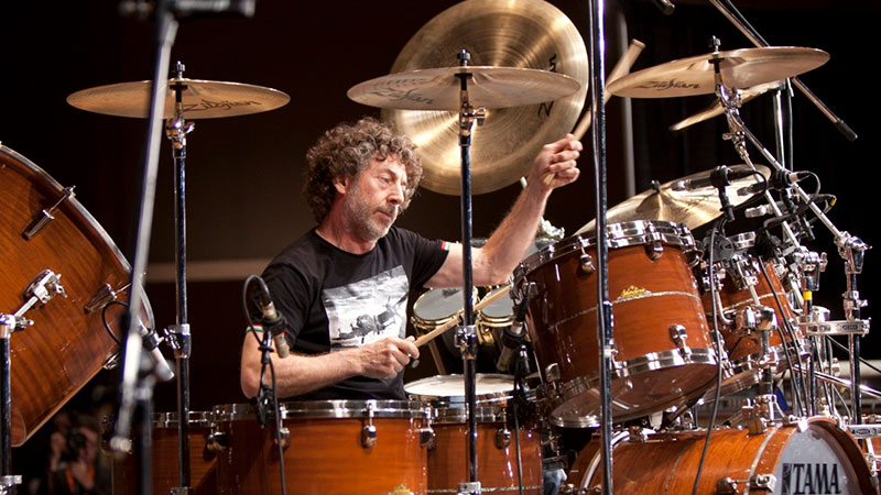 Simon Phillips en Masterclass de sound:check Xpo 2019