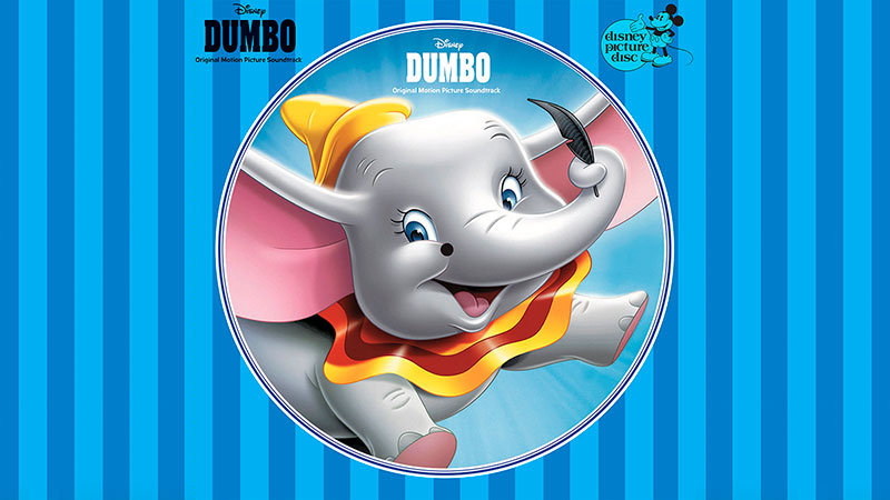 Picture Disc Vinyl Edición del soundtrack original de «Dumbo»