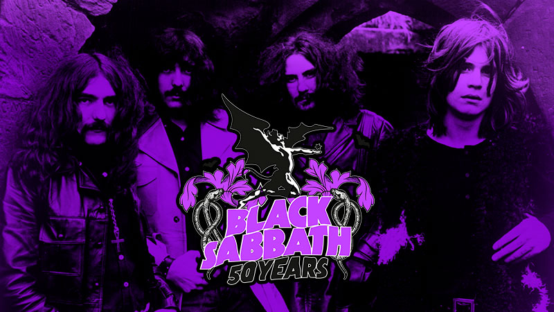 Exposición en Birmingham Black Sabbath 50 Years
