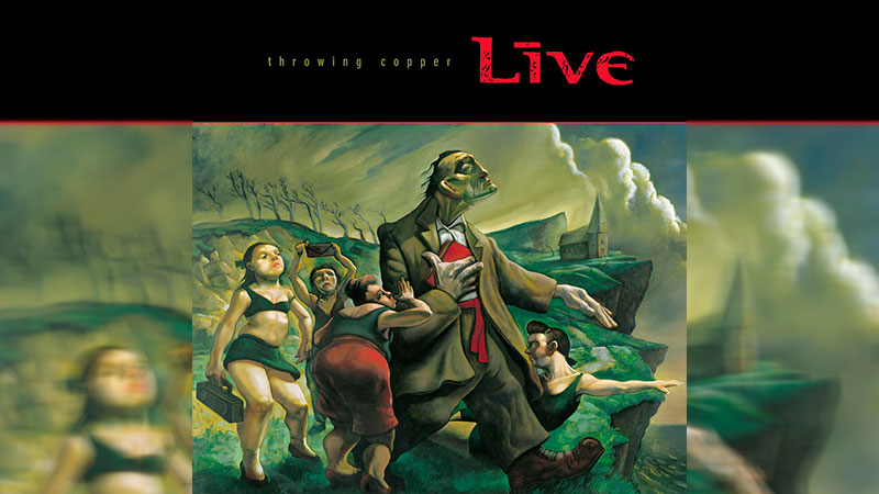 'Throwing Copper' de Live celebra 25 años con reedición