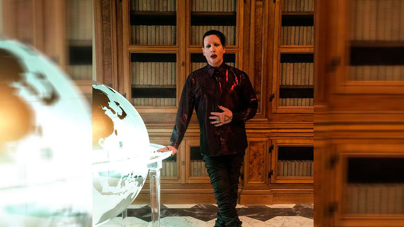 "Marilyn Manson aparecerá en la serie de HBO, ""The New Pope"""