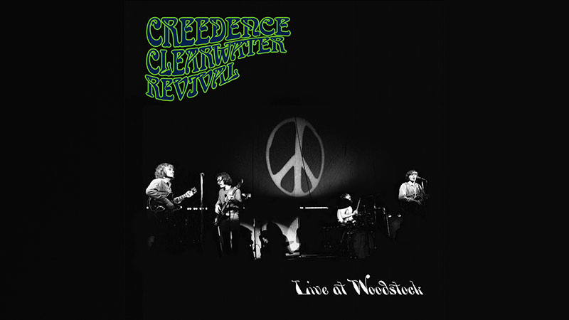 Creedence Clearwater Revival lanzará Live At Woodstock
