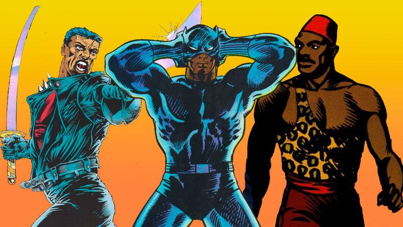 Personajes de ficción negros
