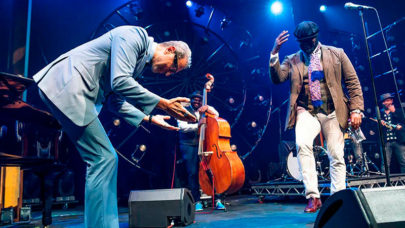Jeff Goldblum y Gregory Porter lanzan «Make Someone Happy»