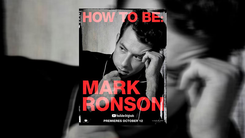 "YouTube presenta ""How To Be: Mark Ronson"""