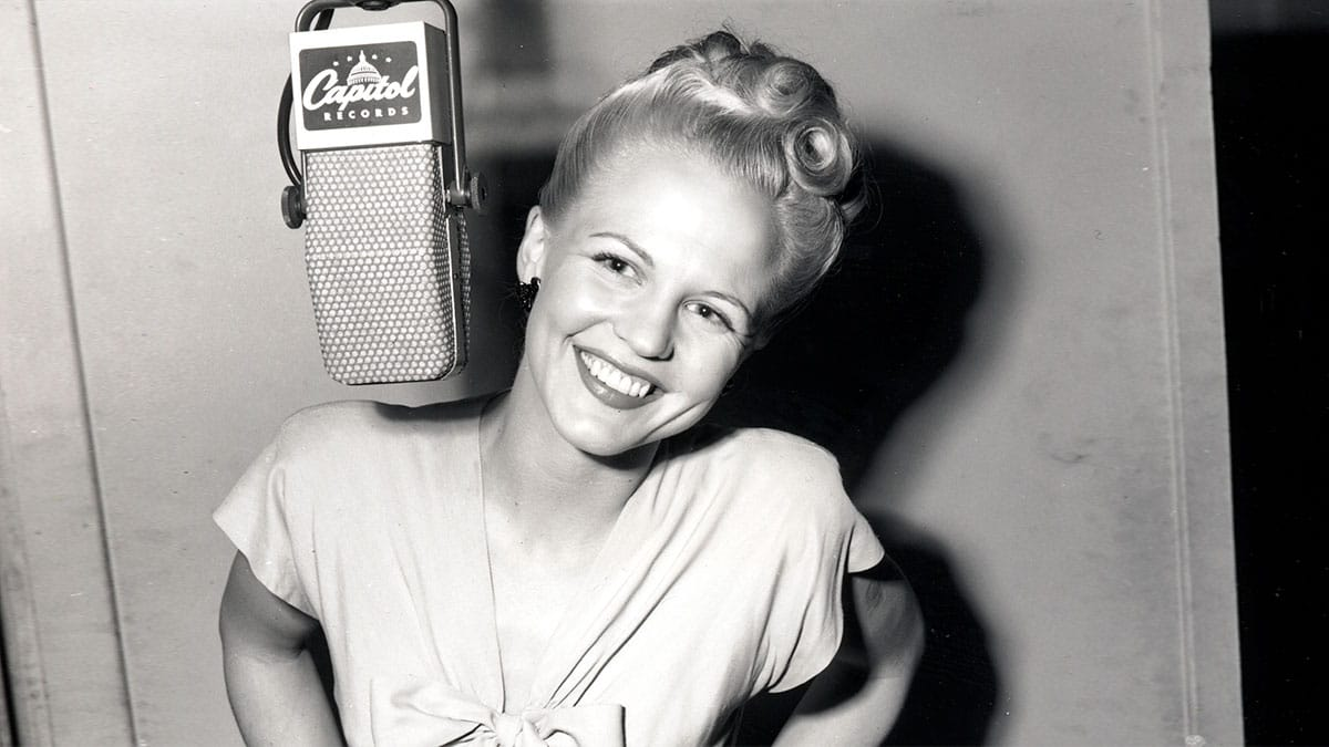 Peggy Lee Is That All There protagonista