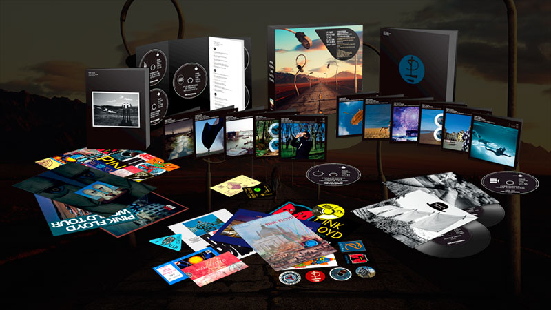 Pink Floyd lanza el box set 'The Later Years'