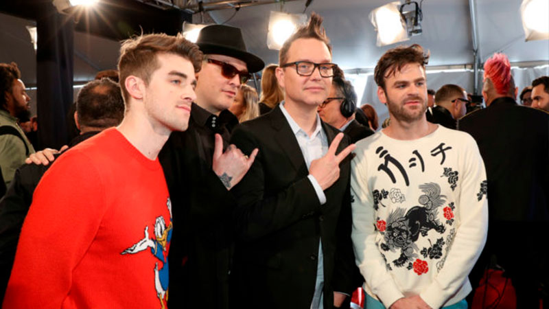 """Blink-182 colabora con The Chainsmokers en """"P.S. I Hope You're Happy"""""""