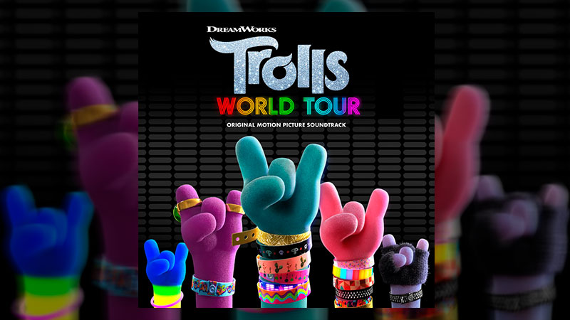 "Ya está disponible el soundtrack de ""Trolls World Tour"""