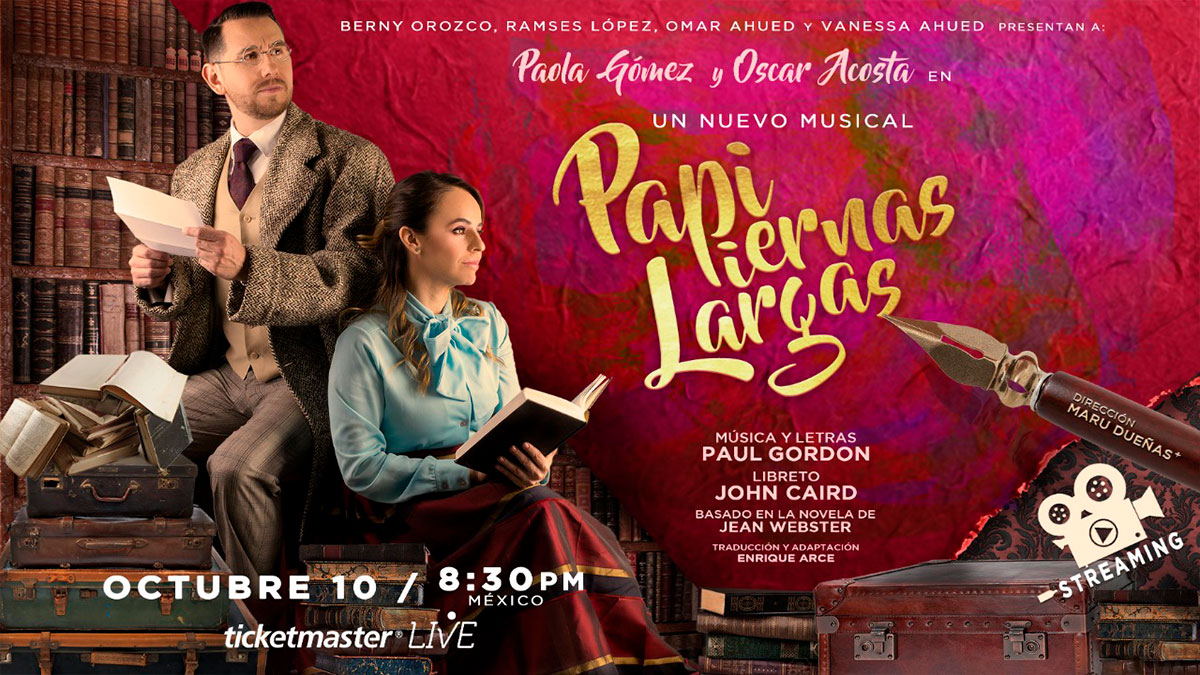 "El musical ""Papi Piernas Largas"" en streaming"