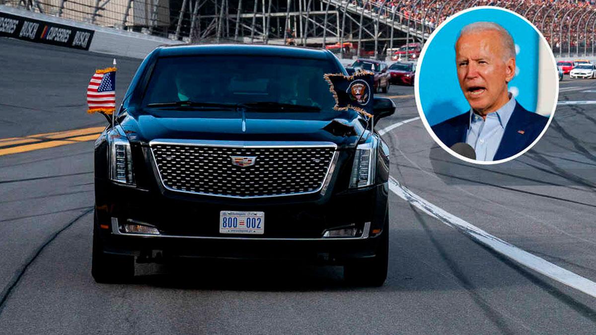 La Bestia el próximo auto de Joe Biden