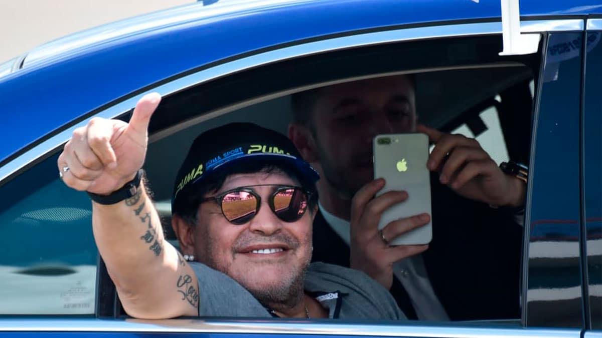 Los autos más exóticos de Maradona